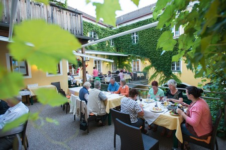 Terrassen - Restaurant im Innenhof